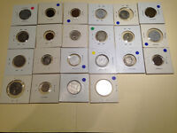 22 RARE COLLECTOR COINS FROM EUROPE