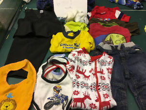 Boys 6-9 months bag of gently used clothes