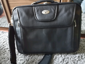 Antler Executive Leather Laptop Bag /Case