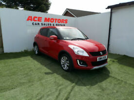 2014 SUZUKI SWIFT 1.2 4X4 SZ4 5 DR,ONLY 18000 MILES WITH FULL SERVICE HISTORY