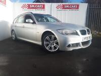 2009 09 BMW 318D 2.0 M-SPORT TOURING ESTATE.FULL SH,NEW CLUTCH,FLYWHEEL,GEARBOX.