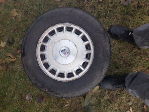 Great condition buick tires w/mag NEGO