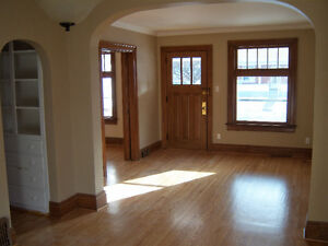 Charming Main Floor. Great Downtown Location. Available now!
