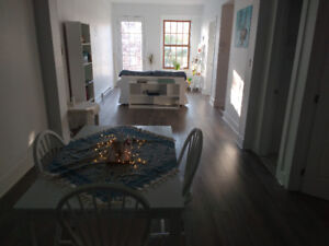 Sublet a bright & sleek apartment in Westmount (July & August)