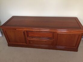 *REDUCED* Solid Rosewood TV sideboard unit