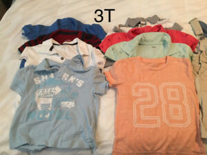 3T 20 piece lot of Shorts, Shirts Coat PJs etc.