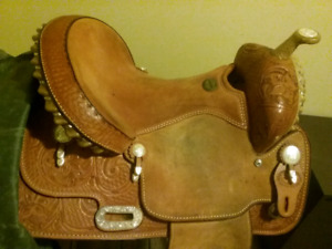 "14"" Billy Cook Barrel Saddle"