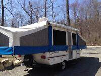 belle grande tente roulotte flagstaff négociable