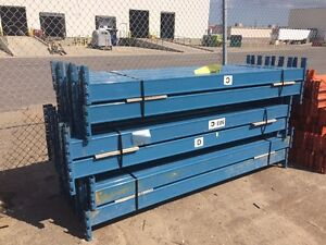 USED MASTER SERIES PALLET RACKING