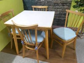 Retro Drawer Leaf / Extendable Table - Can Deliver For FREE Locally On Orders Over £100