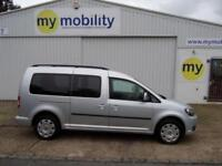 Volkswagen Caddy Maxi Automatic Wheelchair Accessible Disabled Adapted Car WAV