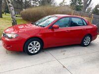 2009 Subaru Impreza 2.5i.