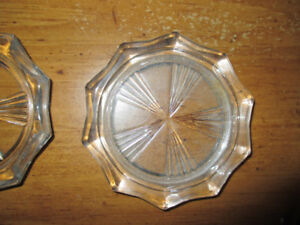 Vintage Riems France Glass Coasters