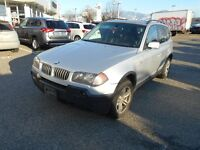 2005 BMW X3 AWD Auto V6 3.0L Excellent Condition