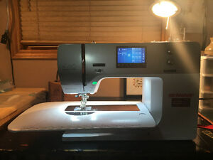 Bernina 750QE sewing machine