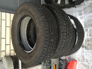 Takeoff Tires- Goodyear Wrangler Fortitude HT