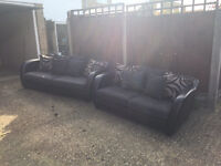 DFS 2 Seated and 3 Seated sofa