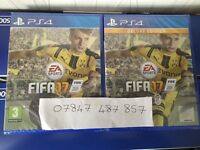 FIFA 17 - DELUXE VERSION - BRAND NEW AND SEALED FOR PLAYSTATION 4 PS4