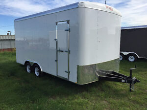 2016 TNT 8.5x16ft Enclosed Trailer w/12'' Extended Height $8999