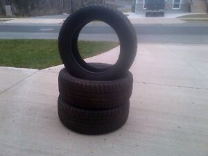 3 SNOW TIRES SUITABLE FOR VW BEETLE