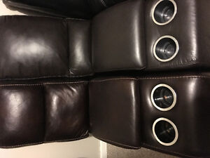 Leather Inserts for couch / recliners