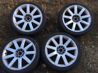 "Audi/vw 18"" rs4 alloys"