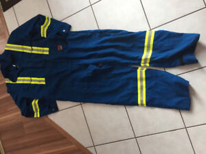 Men fire retardant coverall brand new