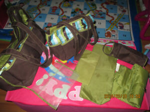 Ultimate Diaper Bag, 2nd smaller bag, bottle warmer,change pad