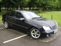 2004 54 REG Mercedes-Benz C220 2.1TD auto CDI Avantgarde SE (P/X TO CLEAR)