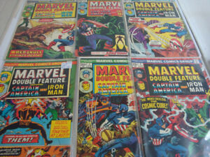 Lot de Comics Marvel Double Feature #2 à #20, Captain America