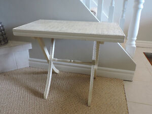 French country end table or night table