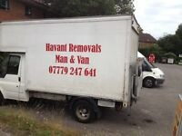 Man and Van service for removals and clearance