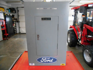 100A breaker panel 3 phase Square D complete with breakers