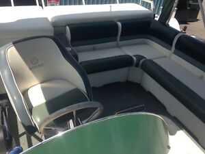 20'Pontoon, 50hp, with Trailer. Must go before long weekend