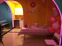 Party Hall Rental Lounge Birthday Baby Shower Kids Party $299