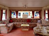 CHEAP 8 Berth Static Caravan For Sale BORTH West Wales 12Mth Park