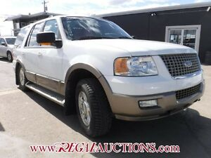 2004 FORD EXPEDITION EDDIE BAUER 4D UTILITY 4WD