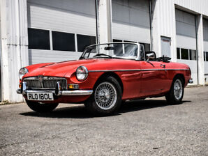 1973 MG MGB Right Hand Drive