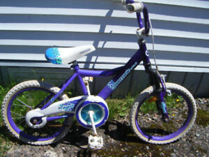 Girl's 16 inch Supercycle bike