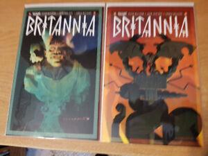 Britannia Completed Series #1-4 Valiant