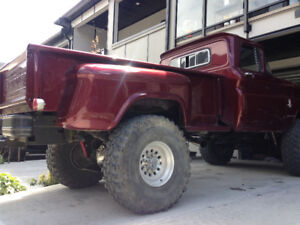 1963 chevy stepside longbox lifted