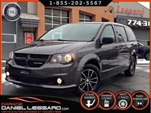 Dodge Grand Caravan BLACK TOP, TV-DVD, PORTE ET HAYON ÉLECTRIQUE