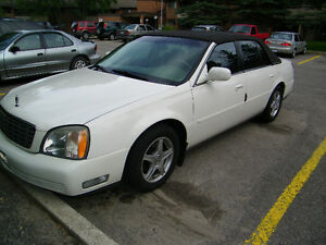 2001 Cadillac DeVille BEIGE Sedan OR FOR PICK UP TRUCK