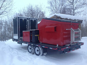 Portable heated / Air conditioned Washrooms / Showers