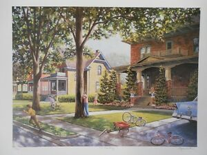 ROGER WITMER PRINT 118/950 NO PEEKING Kitchener / Waterloo Kitchener Area image 1