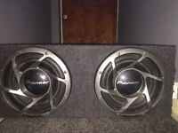 """12"""" Double Pioneers 1200w"""