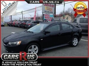 2014 Mitsubishi Lancer GT....includes 4 FREE winter tires!!!
