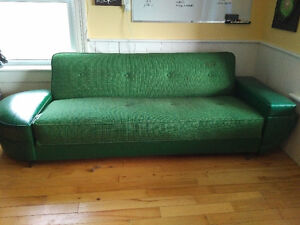 Retro sleeper couch and chair Belleville Belleville Area image 1