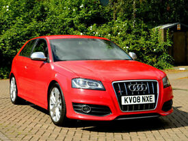 2008 08 Audi S3 2.0 TFSI QUATTRO 3dr FACELIFT WITH FULL SERVICE HISTORY