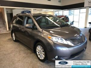 2014 Toyota Sienna XLE  - Sunroof -  Leather Seats - $252.39 B/W